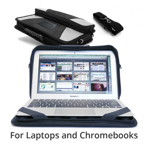 Rugged Chromebook Case for K-12 School Is Made for Kids and Students in 1:1 Technology Programs